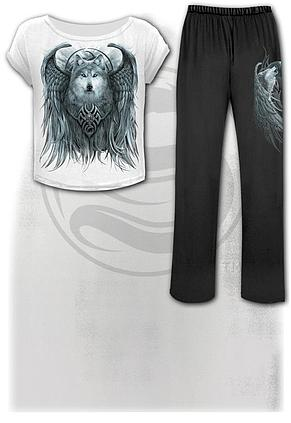 WOLF SPIRIT - 4pc Gothic Pyjama Set