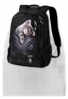POCKET KITTEN - Back Pack - With Laptop Pocket