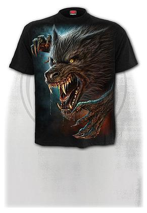 WILD MOON - T-Shirt Black