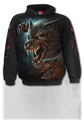 WILD MOON - Hoody Black