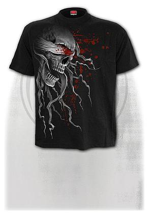 BLIND FAITH - Front Print T-Shirt Black