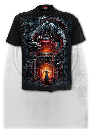 DRAGON'S LAIR - T-Shirt Black