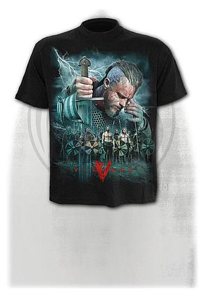 VIKINGS - BATTLE - T-Shirt Black
