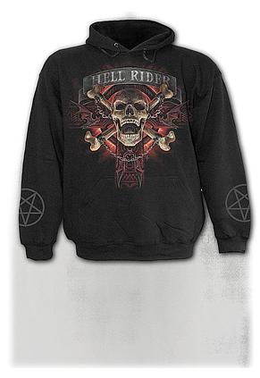 HELL RIDER - Kids Hoody Black